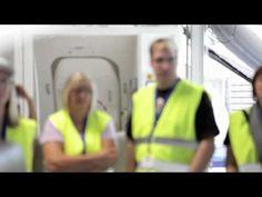 Video: Condor Sicherheitstraining am Flughafen Frankfurt
