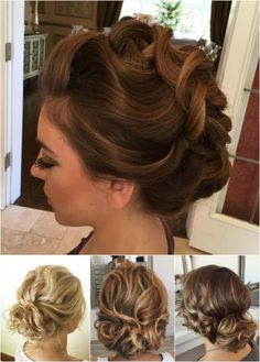 don't like it. like the color of the top hair pic  loose curly updos for medium length hair