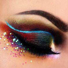 Peafowl Makeup Tutorial - Makeup Geek