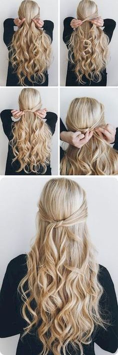 Nice 57 Five Minute Gorgeous and Easy Hairstyle #Easy #Gorgeous #Haircuts #Hairstyle #Ideas