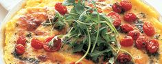 Polenta Pizzas with Mozzarella, Baby Tomatoes & Rocket | Vegetarian | Recipes | Woolworths.co.za