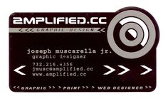 :-) My metal business card