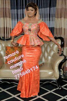 African Fashion Dresses, African Attire, African Wear, African Women, African Dress, Aso Ebi Styles, Ankara Styles, Ankara Skirt, Chic Outfits
