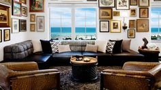 Fashionable Design: Lenny Kravitz - A suite at the SLS Hotel in South Beach.