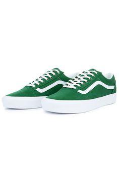 VANS Sneaker Old Skool Lite Juniper Green White - Karmaloop.com