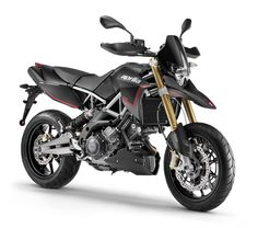 #Aprilia Dorsoduro 750 ABS Black Color available at #DusejaMoto #Dubai