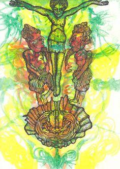 Original Nature Drawing by Color Calor Watercolor Drawing, Watercolor Pencils, Nature Drawing, Animation, Pencil Drawings, Buy Art, Paper Art, Saatchi Art, Original Art