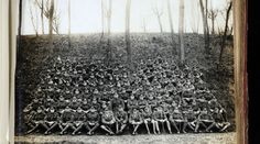 Survivors of the original Battalion, East Yorkshire Regiment ( the Hull Pals) taken at St Omer in December Originally the battalion would have had men. (c) Hull Museums. Ww1 Timeline, East Yorkshire, First World, Museums, Railroad Tracks, Egypt, December, War, The Originals
