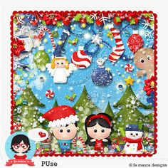Kit - Natal das Criancas by Fa Maura