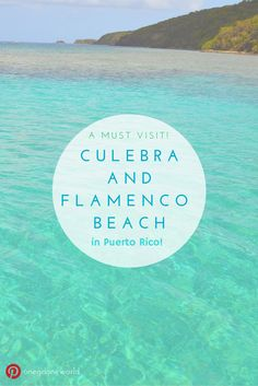 Dreaming of white sand beaches, snorkeling, and perfect blue water? Then you HAVE to go to Culebra in Puerto Rico! Here's how! #puertorico