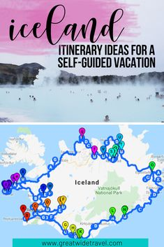 "Perfect ""first timer"" itinerary for a self-lead road-trip all over Iceland. Driving map and things to do included! #iceland #icelandtravel #roadtrip #europe #goldencircle"