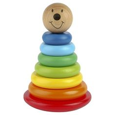 #Magnetic #Wooden Wobbly Stacker #Toy £14.95