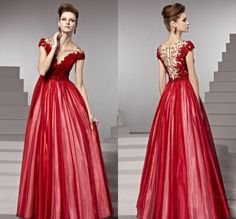 Find More Prom Dresses Information about Beauty Prom Dresses V Neck Zipper Tulle Flower Lace Beads Sweep train Sexy Evening Gowns Long Prom Dresses ,High Quality dress like fashion designer,China gown supplier Suppliers, Cheap dress salsa from Deep Love Studio on Aliexpress.com