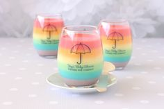 Easy DIY Decorating Ideas For a Cute Clouds & Rainbow Baby Shower -Beau-coup Blog