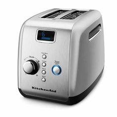 KitchenAid Artisan 2 Slice Toaster Contour Silver - KitchenAid Toasters
