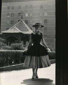 Hat Fashions  Date taken:1955  Photographer:Nina Leen