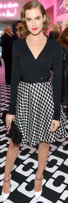 Allison Williams in Diane von Furstenberg | LBV ♥✤ | KeepSmiling | BeStayElegant