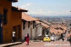 calle 10 in la candelaria in bogotá Old Town, House Colors, Rooftop, South America, Just In Case, Street View, Mugs, Places, Serif