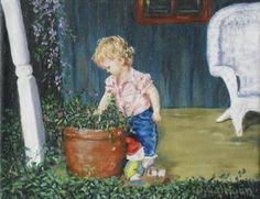 Fine Art 8X10 original oil paint on stretched by jennifercalhoun1