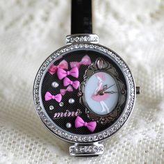 MINI hodinky - Tanečnice Bracelet Watch, Watches, Bracelets, Accessories, Wristwatches, Clocks, Bracelet, Arm Bracelets, Bangle