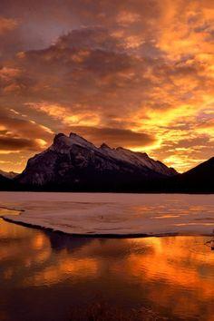 Sunrise - Banff National Park by Shuchun Du
