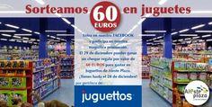 ¡SORTEAMOS 60€ EN JUGUETES! ALESTE PLAZA