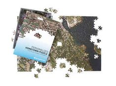 Did the couple meet while they were in college? Gift them a jigsaw puzzle of a map of a meaningful location. This 400-piece puzzle covers a four- to six-mile radius from any address you specify.  Signals personalized hometown jigsaw puzzle, from $40, Signals.com