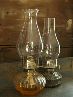 Vintage Kerosene Oil Lamp
