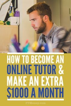 Read PT's interview with Aaron. Aaron is an online Chemistry tutor who has earned up to $1000 a month with this side gig. Online tutoring is easier than ever with website like http://tutor.com!
