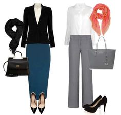 Creating a perfect first impression is what you seek for on the day of your job interview. There are many things that can affect your employer and the What Should I Wear, What To Wear, Job Interview Outfits For Women, Job Interviews, Business Travel Outfits, Business Casual, Winter Office Outfit, Office Outfits, Work Outfits