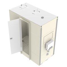 Taplanes: Linfield en suite bathroom pod 2 of 2