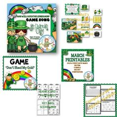 MARCH MONTHLY MUSIC LESSON BUNDLE *SONGS... by SING-PLAY-CREATIVELY   Teachers Pay Teachers