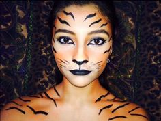 DIY Tiger Halloween Costume Idea