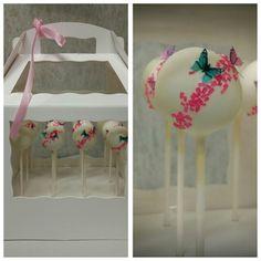 More butterflies - cake pops