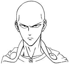Stunning coloring pages: One punch man saitama coloring pages Amazing Coloring sheets Saitama One Punch Man, Anime One Punch Man, Manga Drawing, Guy Drawing, Drawing People, Cartoon Drawings, Easy Drawings, Easy Sketches, Kids Punch