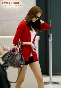 snsd - im yoona #airportfashion
