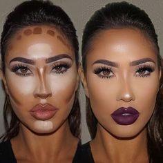 Make up contouring, how to contour, face contouring makeup, contouring Makeup Goals, Makeup Hacks, Makeup Inspo, Makeup Inspiration, Makeup Ideas, Glam Makeup, Makeup Tutorials, Makeup Routine, Makeup Geek