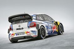 Reigning WRC king Sebastian Ogier gets a new car with a new look ahead of the 2015 World Rally Championship season. This is the new VW Polo R WRC.