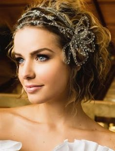 different and pretty hair piece