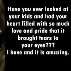 Absolutely! Even with my younger siblings! Watching all of them grow brings tears to my eyes! My heart has do much love to give :)