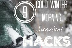 9 cold winter morning survival hacks