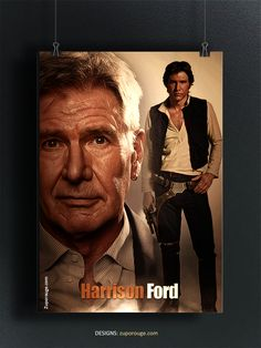 Harrison Ford, Han Solo, Star Wars Art, Suit Fashion, Starwars, Fandom, Suits, Fictional Characters, Outfits
