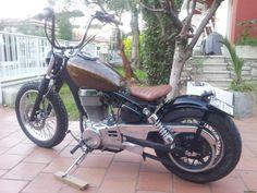 Suzuki Savage 650 BOBBER. See more on CustomMANIA.com e upload your bike too!!!