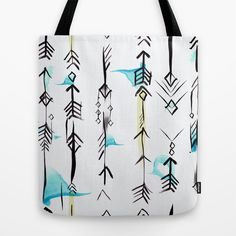 Etnic arrows Tote Bag