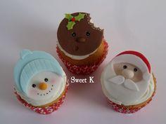 Tutorial No. 2. Paso a paso unos hermosos cupcakes navideños