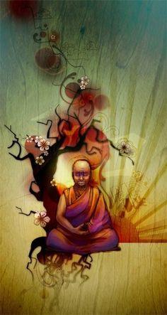 graffiti buddha Street art 'you are beautiful' graphic by ryan feerer for ace hotel // love this type : ) Buddha Kunst, Buddha Art, Tattoo Bein, Meditation, Graffiti Artwork, Buddha Buddhism, Ganesha, Mandala, Krishna