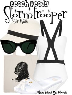 Inspired by Stormtroopers from the Star Wars franchise.