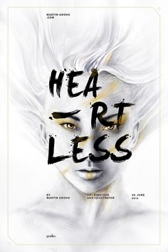 Typography / HEARTLESS • COSMOSYS XV • EXPERIMENT III by Martin Grohs