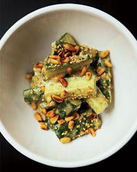 Japanese Cucumber Salad with Sesame-Miso Dressing Recipe on Food & Wine