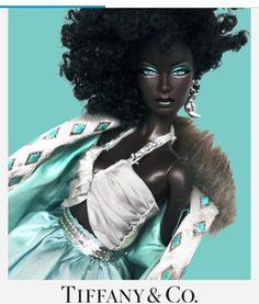 Beautiful Barbie Dolls, Pretty Dolls, Beauty In Art, Black Beauty, Fashion Royalty Dolls, Fashion Dolls, Barbie Fashionista Dolls, Beautiful Black Babies, Black Art Pictures
